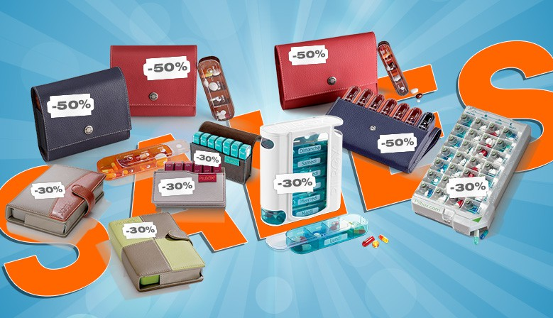 All Weekly Pills Dispensers Are Up to 50% off !