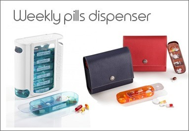 Weekly dispensers